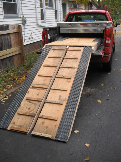 How to build a truck ramp    cheap - General Discussion - DOOTalk Forums